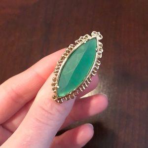 Kendra Scott emerald ring